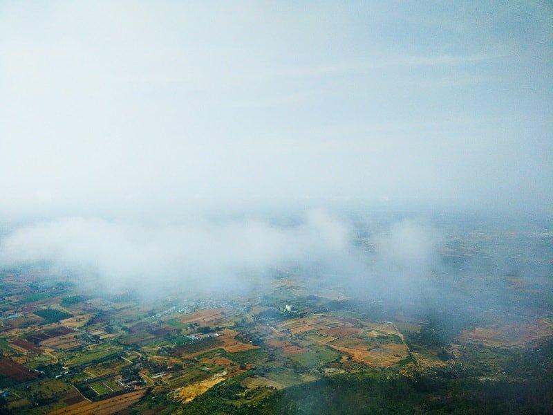 View from Nandi Hills, trip to nandi hills
