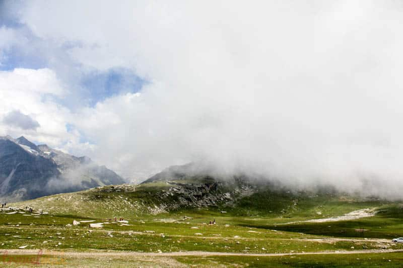 Rohtang pass en route Spiti valley