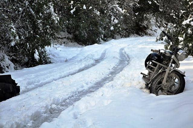 kausani-snowfall