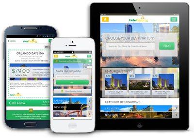 Responsive HotelCoupons.com Website