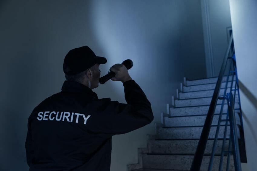 sicherheitskräfte lampe