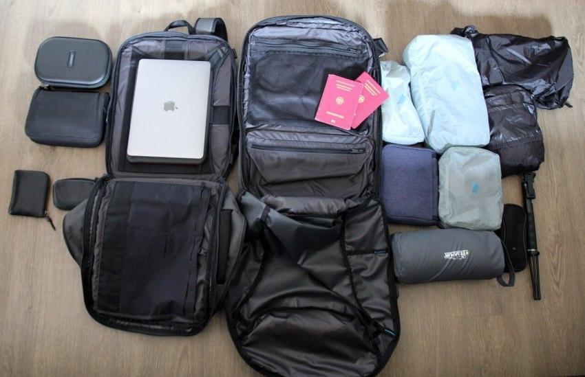 handgepäck rucksack test