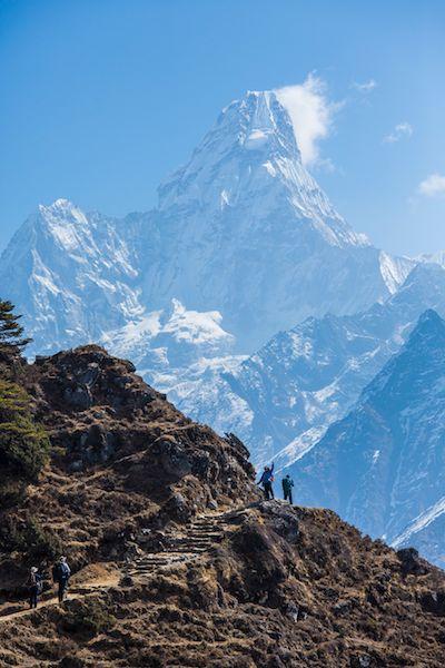 Everest region - photographer: Mark Tipple