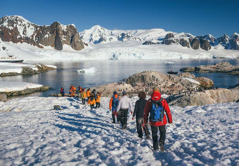 Antarctic Peninsula shore excursion Image David Merron