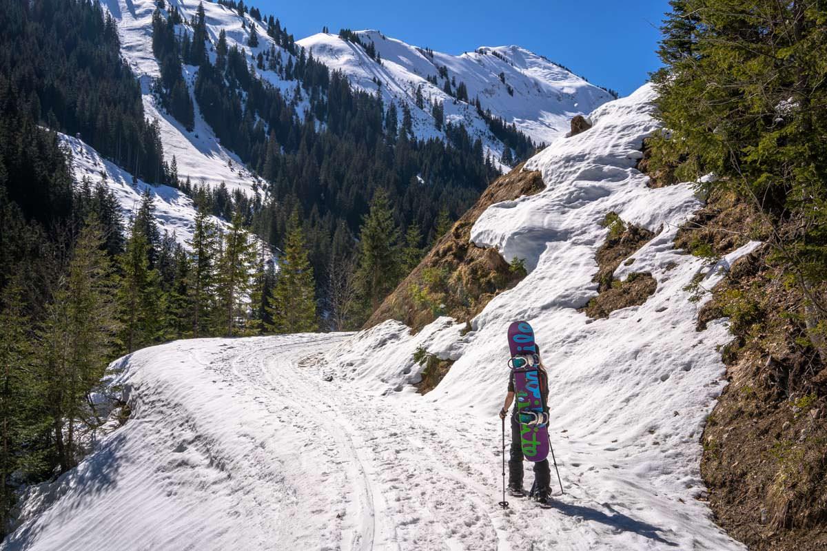 Schneeschuhwanderung auf das Galtjoch