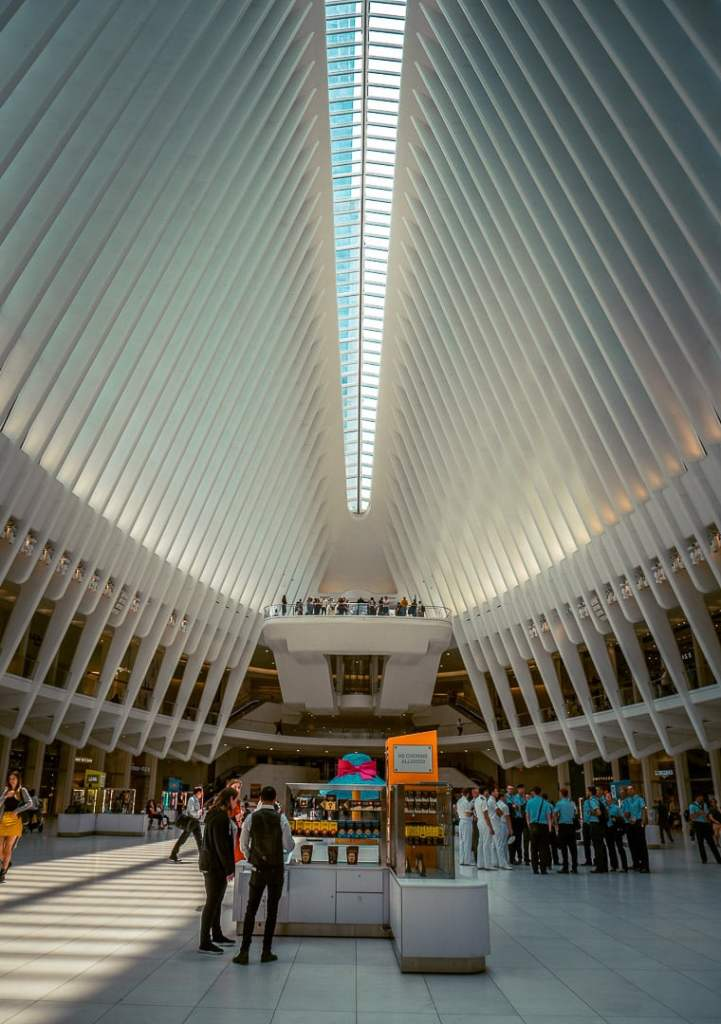l'oculus de new york