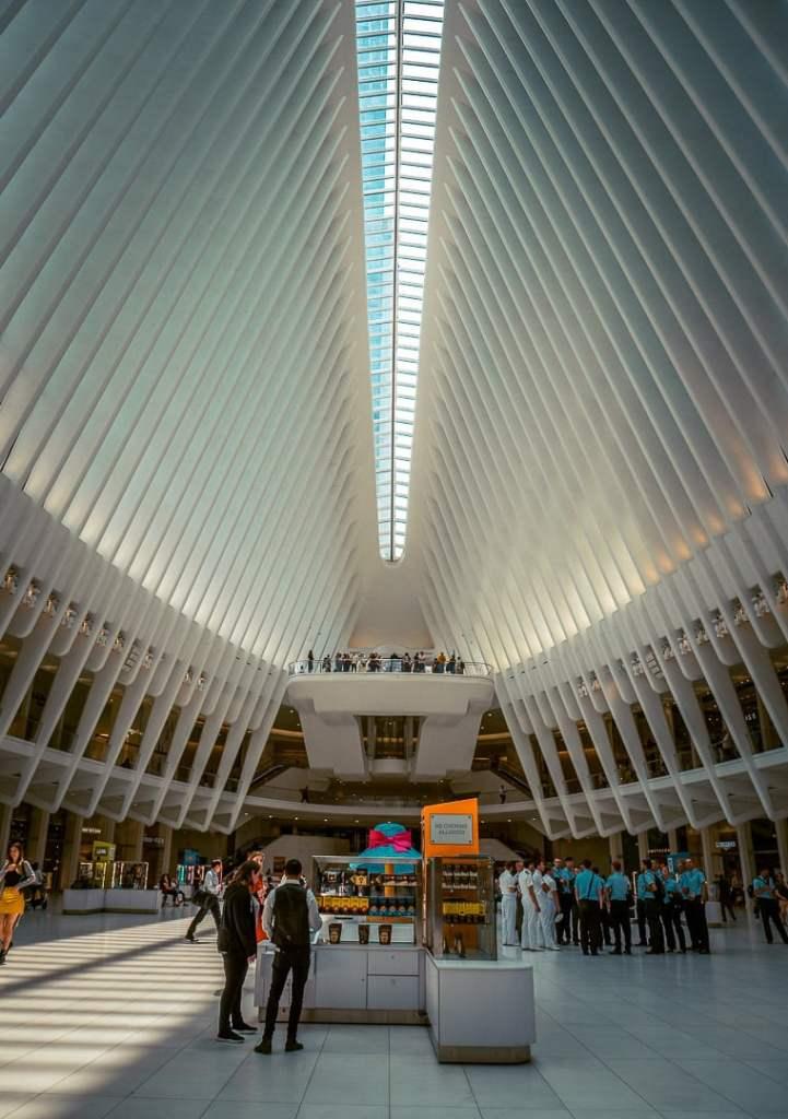 l'oculus de new york