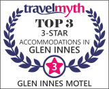 Glen Innes 3 star hotels