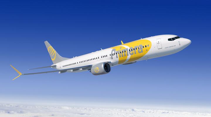 Bildresultat för primera air boeing 737 max