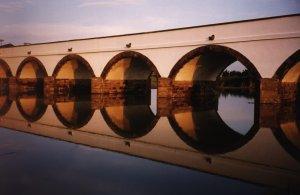 Hortobagy Arched Stone Bridge in Hungary - UNESCO Heritage