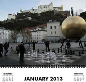 Salzburg in January