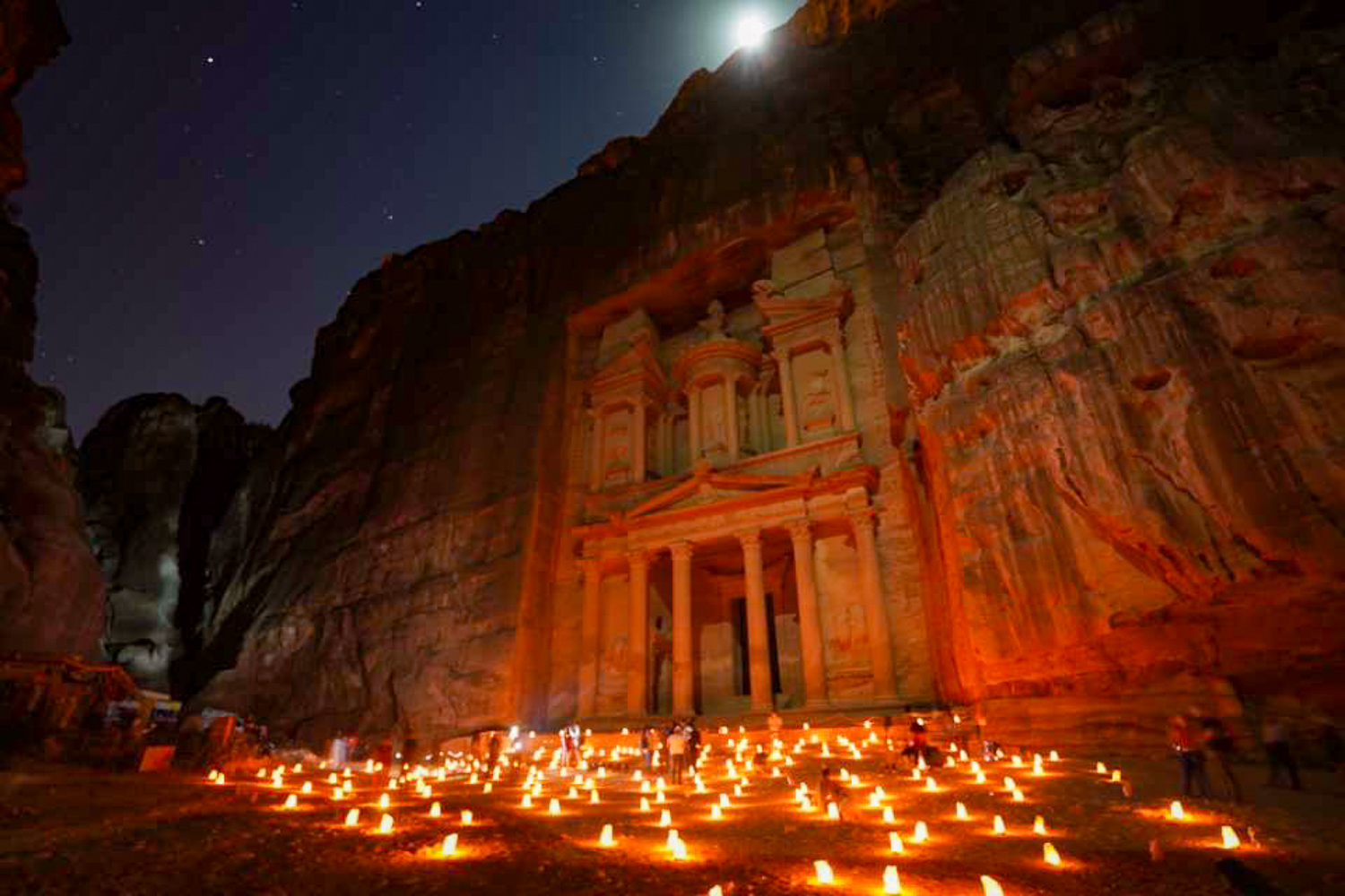 Petra, capital city of the Nabataean Kingdom, believed to be 4th Century BC