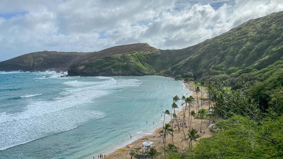The shore on Oahu