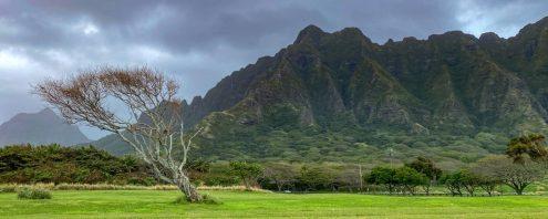 Oahu-mountains