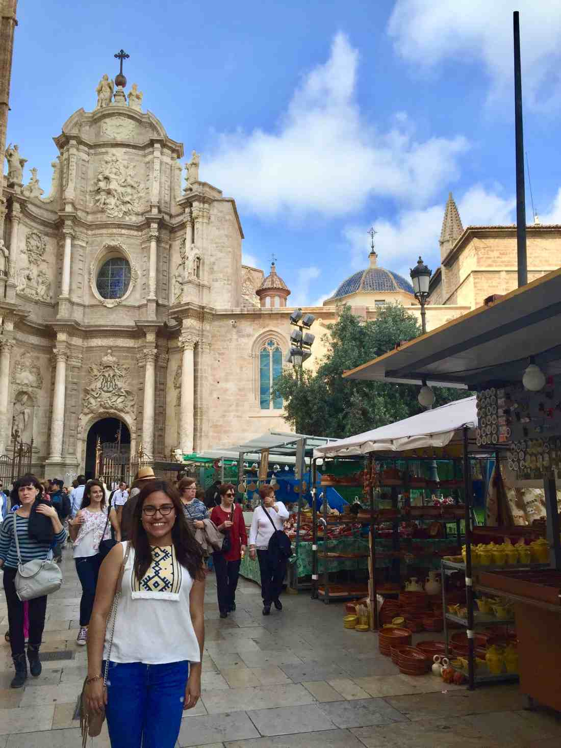 A picture of me being a tourist in Valencia, Spain. My friend whom I met in Madrid invited me to come visit her in her hometown.