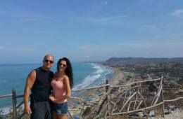 Puerto Cayo view