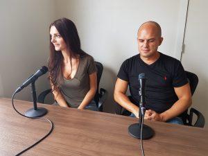 KelownaNow Podcast Interview Trevor and Kashlee