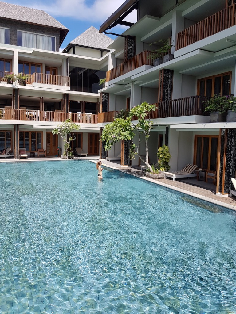 Canggu Haven Suites Hotel and the Pool access rooms