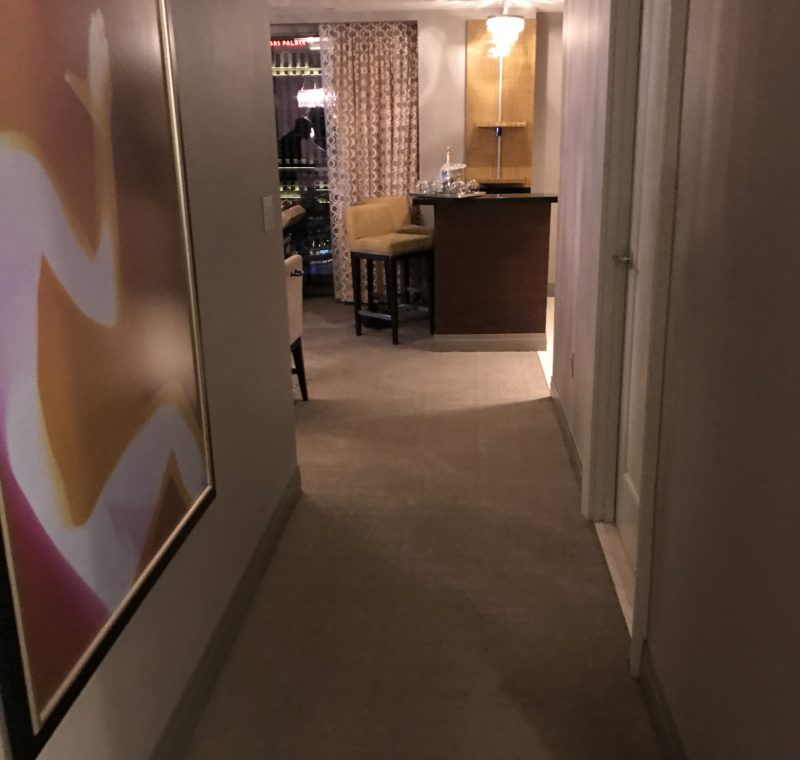 The Cosmopolitan Suite Hallway