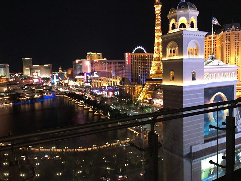 Best Night Fountain View Las Vegas