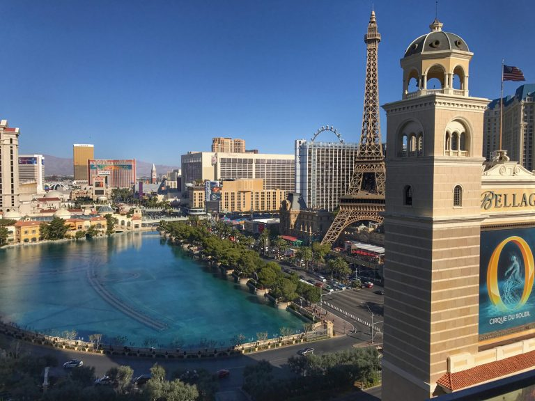 Best Fountain View Suite in Las Vegas