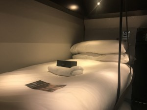 new bunk beds on night riviera sleeper train