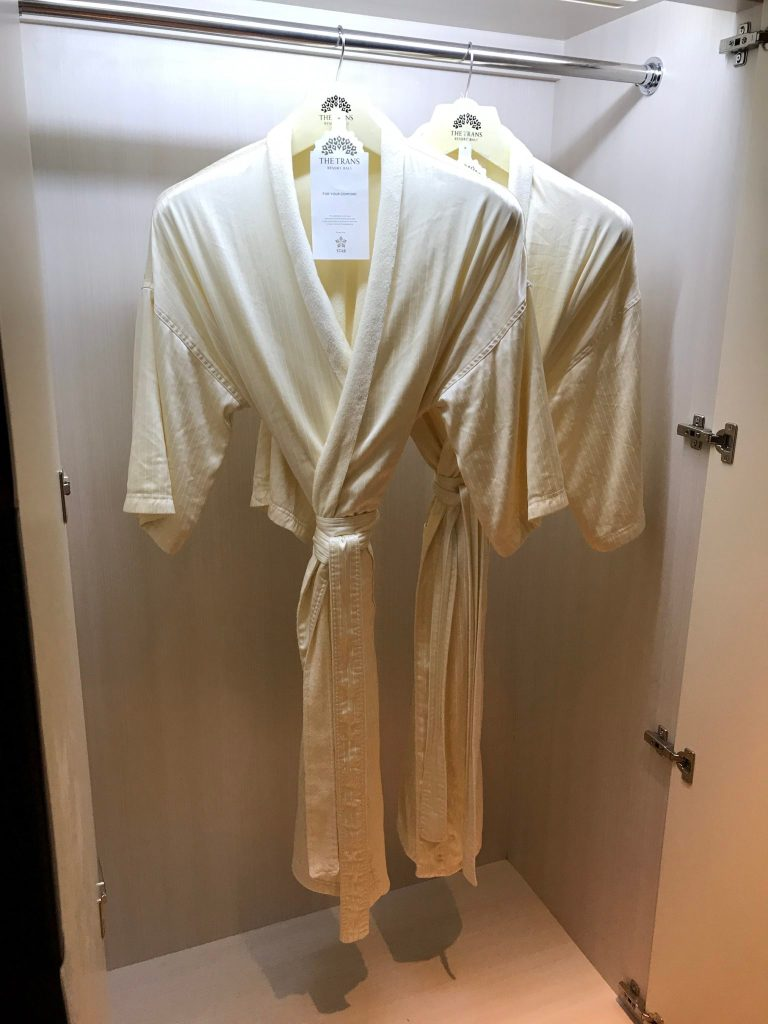 Trans Hotel robes