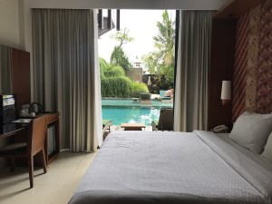 Pool access room at the four points seminyak