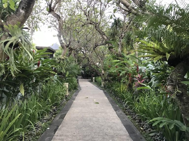 The grounds at Sun Island Seminyak