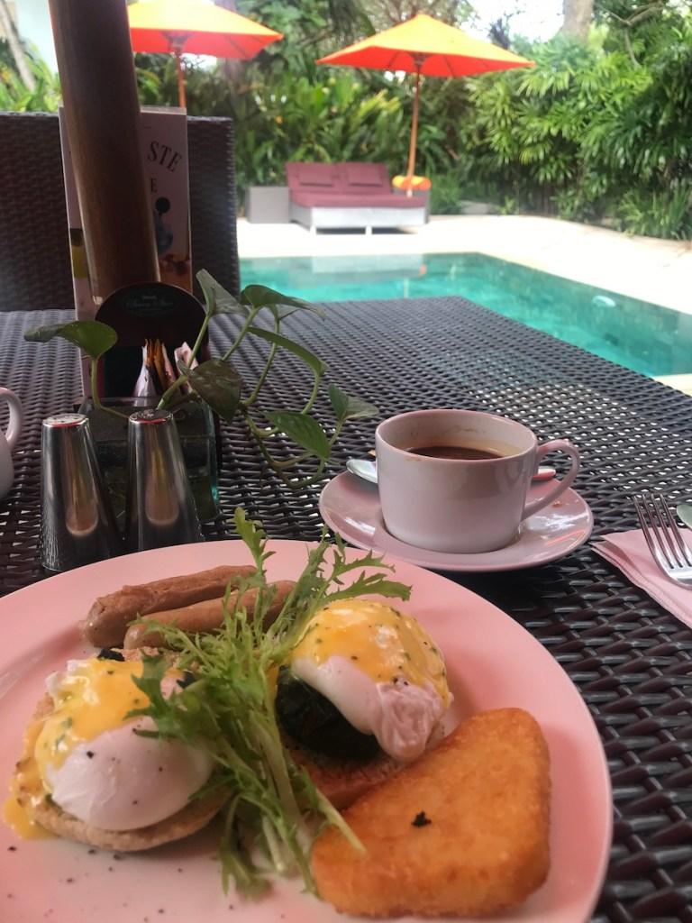 Breakfast at Sun Island Seminyak