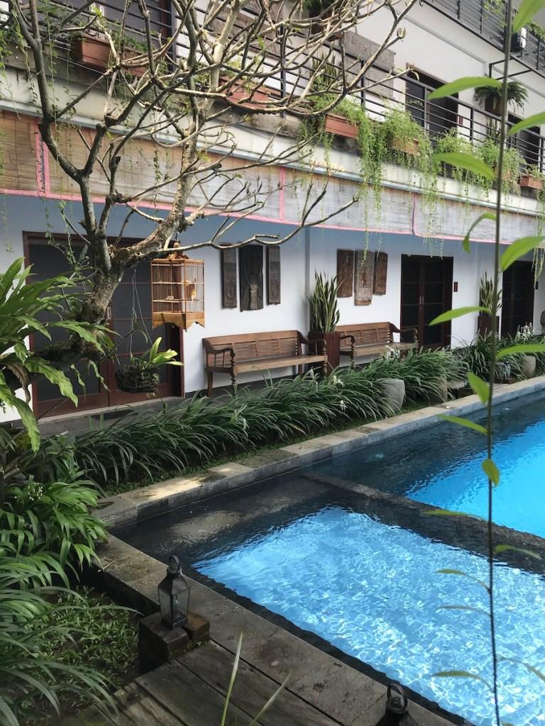 Kamar kamar seminyak pool access