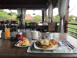 Free Breakfast at the Kamar Kamar Bali