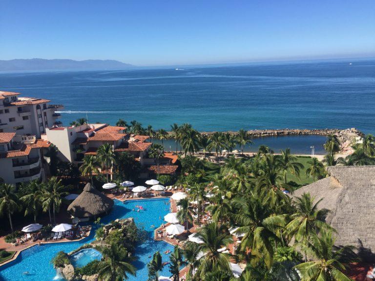 Junior Suite view from the Sheraton Puerto Vallarta