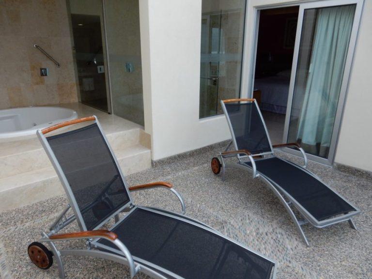 Sheraton Junior Suite Buganvillas terrace