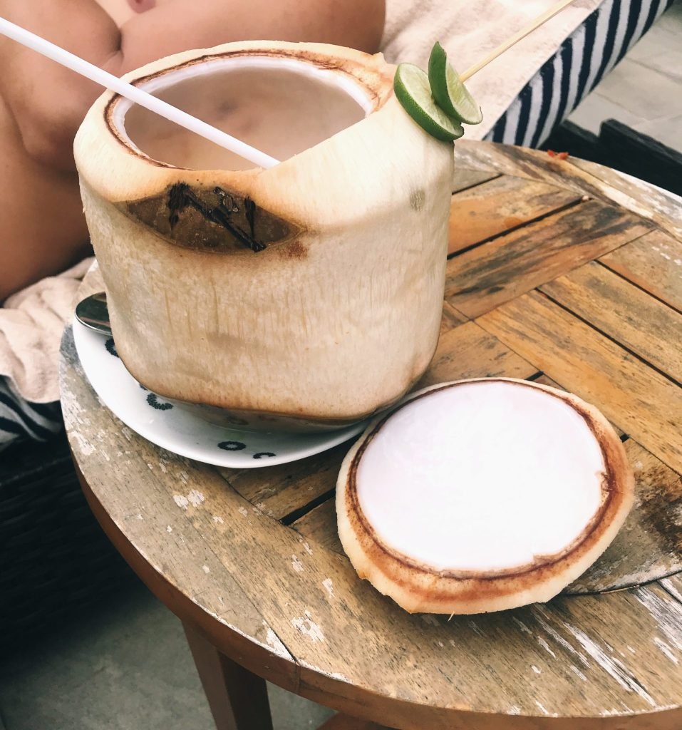 coconut drink bali The Trans Resort
