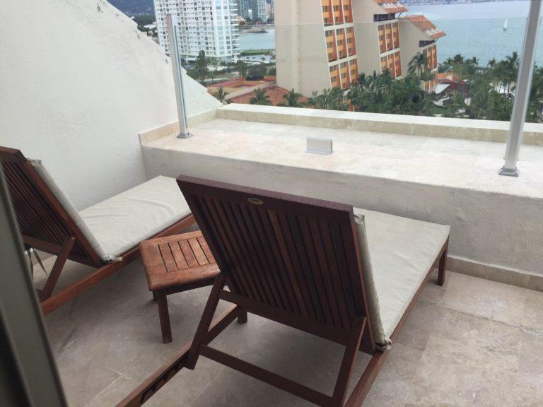 Balcony Westin Junior Suite Puerto Vallarta