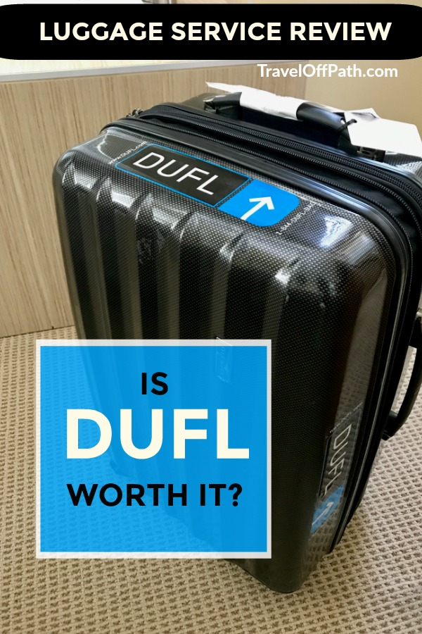 DUFL luggage service review with pricing