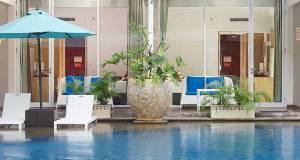 Pool side suite at Ramada Bali