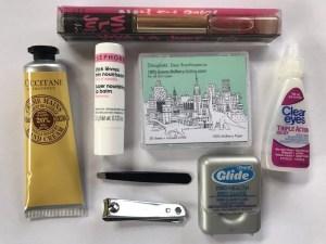 Travel Makeup - Dinoplatz Mulberry blotting papers and L'Occitane hand cream