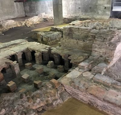 Billingsgate Roman Bath House Ruins London