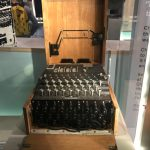 Enigma Machine Churchill Museum