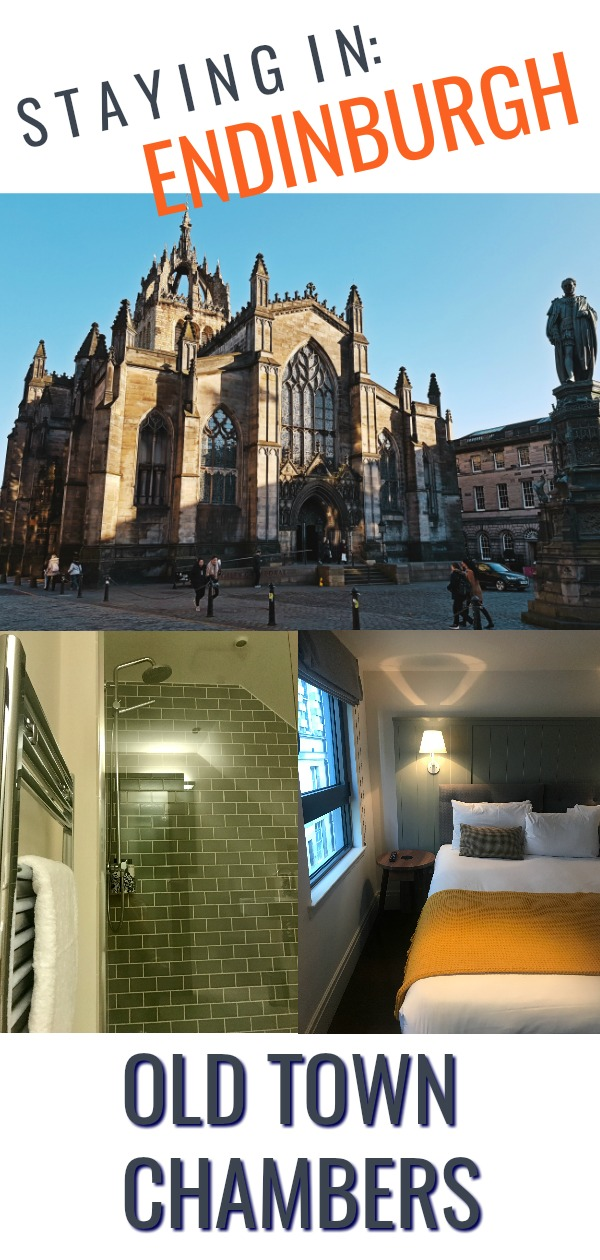 Where to stay in Edinburgh on the Royal Mile - Old Town Chambers Hotel Review