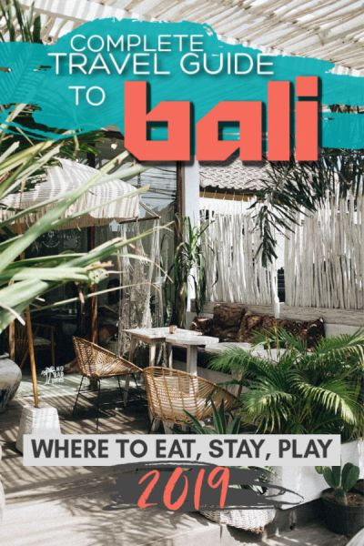 2019 bali travel guide - best hotels and restaurants in bali