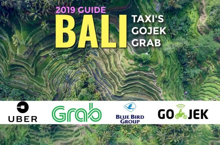 uber and Grab Bali 2019