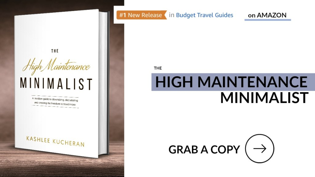 The High Maintenance Minimalist Travel Book
