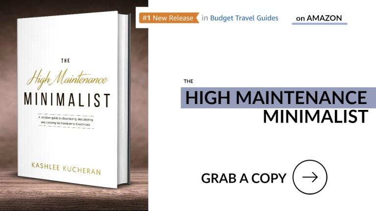 The High Maintenance Minimalist Travel Book
