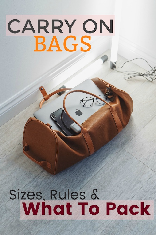 Carry On Bag Guide - What to pack
