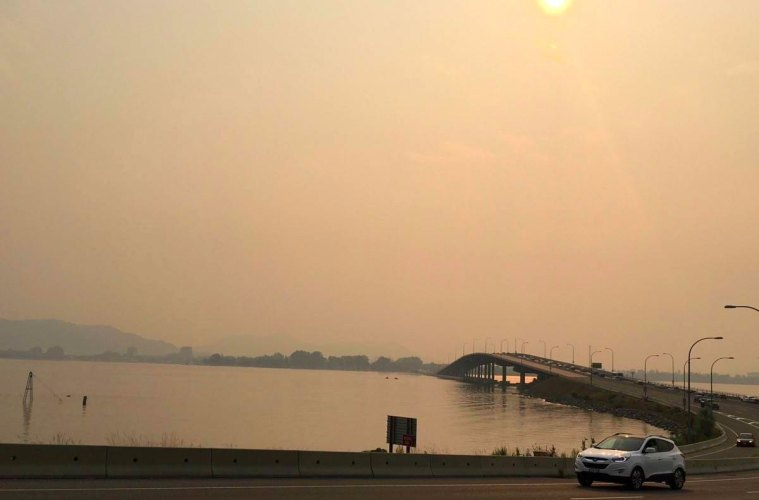460 Fires Burning In B.C. Blanket Western Canada in Smoke