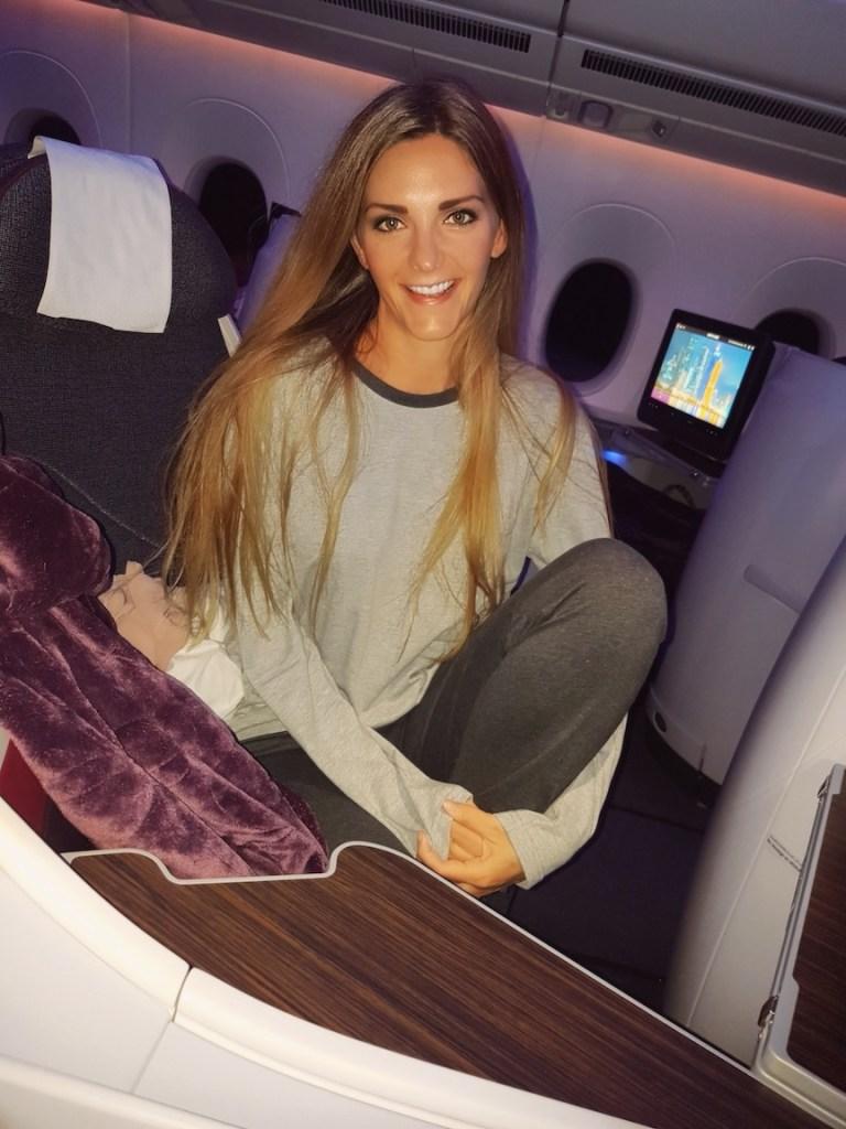 Kashlee Kucheran Qatar Business Class Review