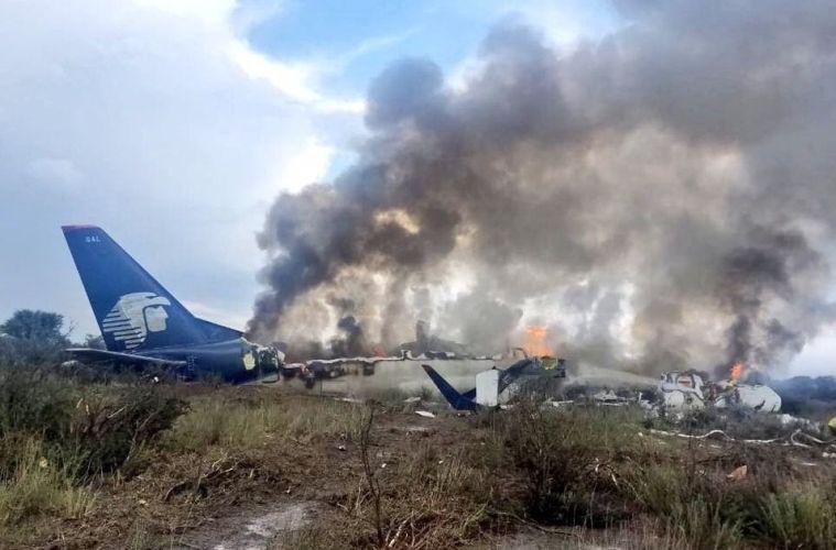 Aero Mexico Plane Crash